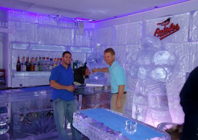 Ice Bar 001 Baltimore Orioles