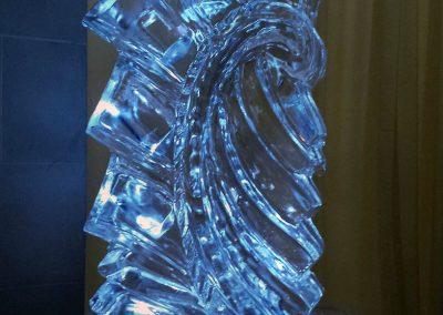 Ice Bar 028 Bottle Holder And Luge
