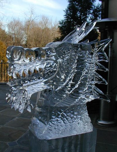 Ice Luge 004 Dragon Head