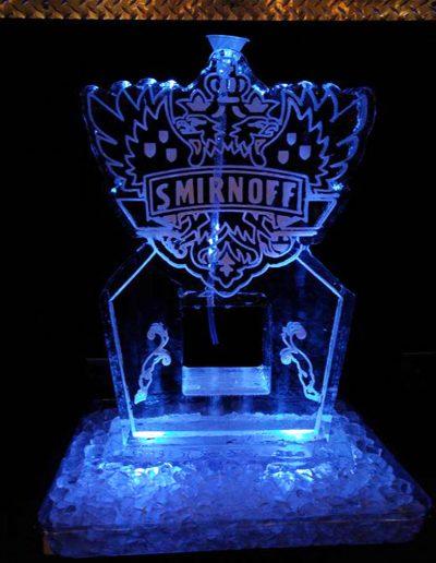 Ice Luge 014 Smirnoff Logo