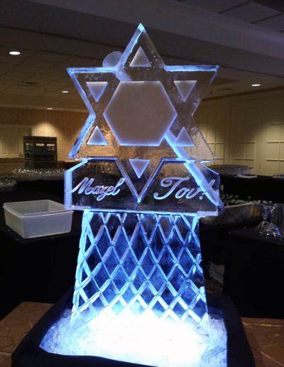 Ice Luge 018 Mazel Tov