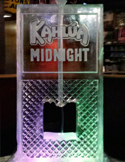 Ice Luge 019 Kahlua Midnight