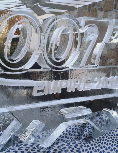 Ice Luge 025 007 James Bond