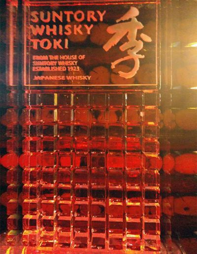 Ice Luge 027 Suntory Whisky Toki