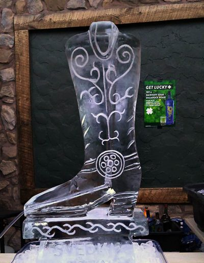 Ice Luge 031 Cowboy Boot