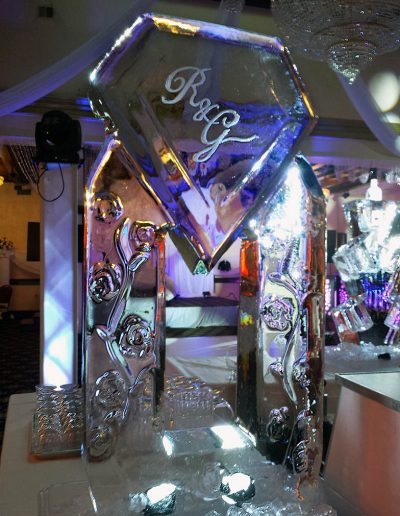 Ice Luge 032 Diamond Monogram