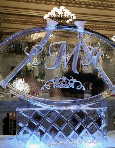 Ice Luge 037 Monogram Double
