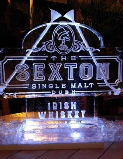 Ice Luge 041 Sexton Irish Whiskey