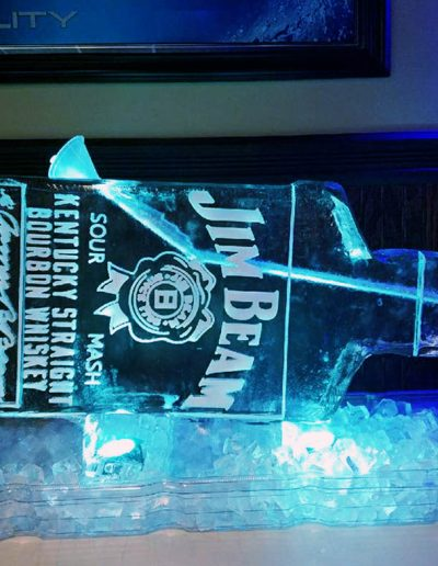 Ice Luge 043 Jim Beam
