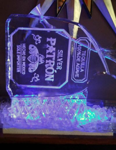 Ice Luge 045 Patron Silver