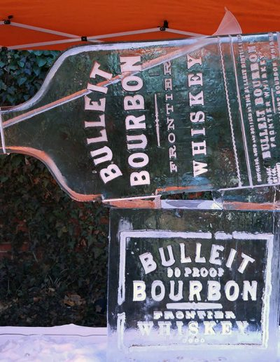 Ice Luge 047 Bulleit Bourbon