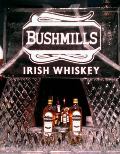 Ice Luge 050 Bushmills Irish Whiskey