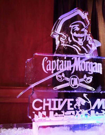 Ice Luge 051 Captain Morgan And Chive