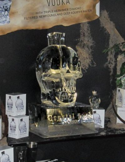 Ice Luge 052 Crystal Head Vodka