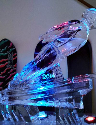 Ice Luge 055 Skier