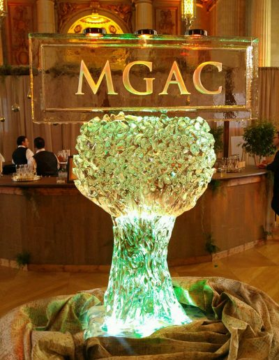 Ice Sculpture Logo 001 MGAC