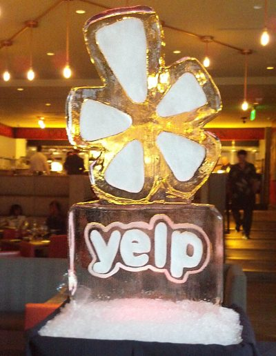 Ice Sculpture Logo 006 Yelp