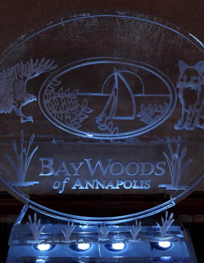Ice Sculpture Logo 021 Bay Winds