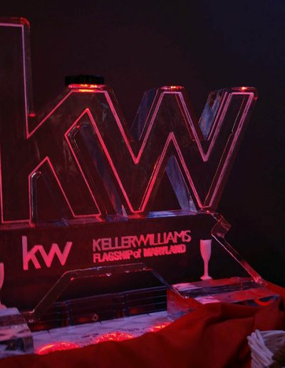 Ice Sculpture Logo 027 Keller Williams