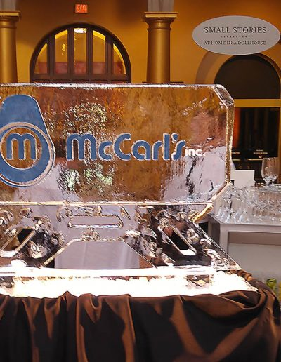 Ice Sculpture Logo 030 Safety Awards