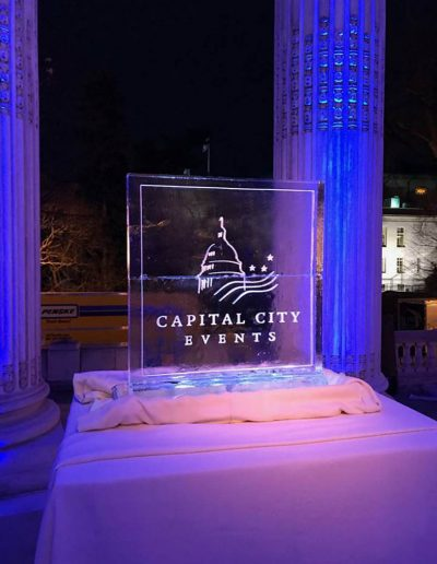 Ice Sculpture Logo 036 Capital City Events