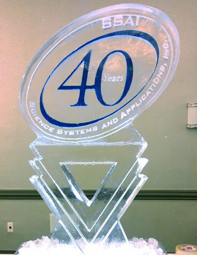 Ice Sculpture Logo 040 SSAI