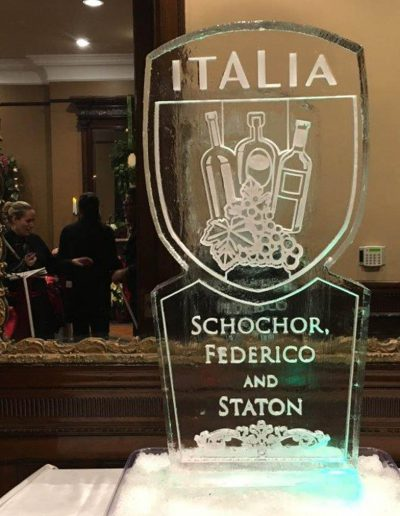 Ice Sculpture Logo 045 Italia