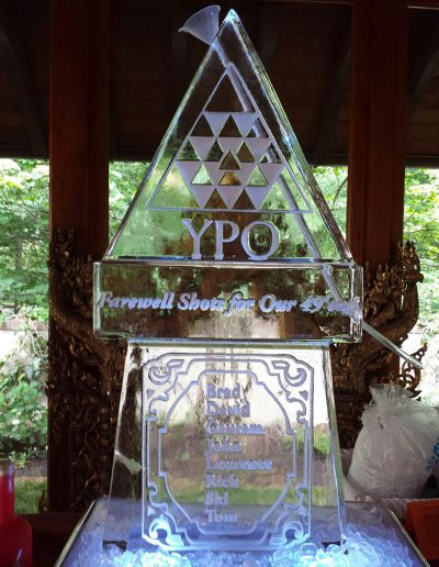 Ice Sculpture Logo 046 YPO