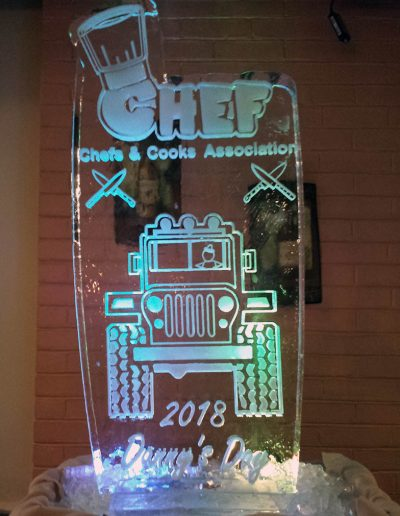 Ice Sculpture Logo 047 Chefs And Cooks Association