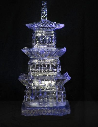Ice Sculptures 005 Pagoda