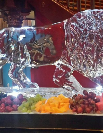 Ice Sculptures 016 Lion Fruit Bar