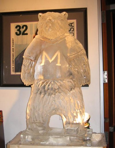 Ice Sculptures 024 Bear