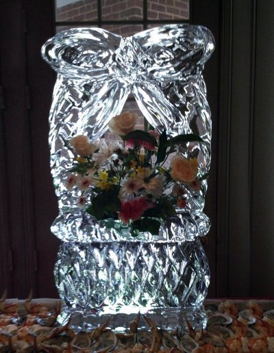 Ice Sculptures 034 Flower Basket