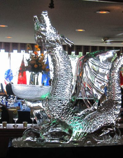 Ice Sculptures 043 Dragon