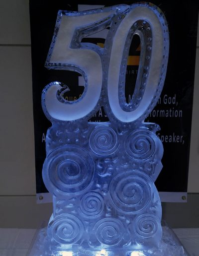 Ice Sculptures For Events 002 50th Birthdayt