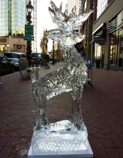 Ice Sculptures For Events 004 Deer