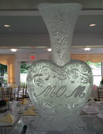 Ice Sculptures For Events 005 Mothers Day Vase