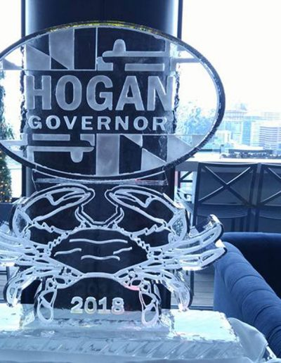 Ice Sculptures For Events 022 Governor Hogan