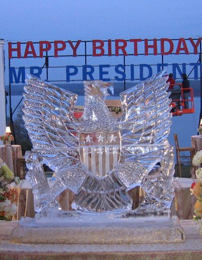 Ice Sculptures For Events 026 Presidential Seal