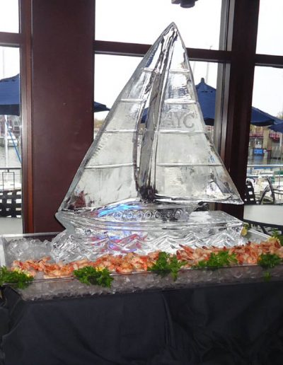 Ice Sculptures For Events 031 Sailboat