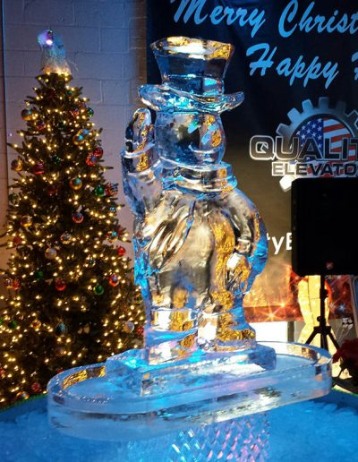 Ice Sculptures For Events 039 Frosty The Snowman