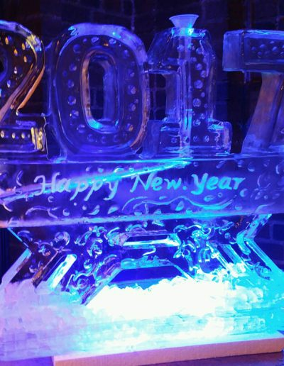 Ice Sculptures For Events 040 Happy New Years