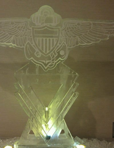 Ice Sculptures For Events 043 Navy Wings