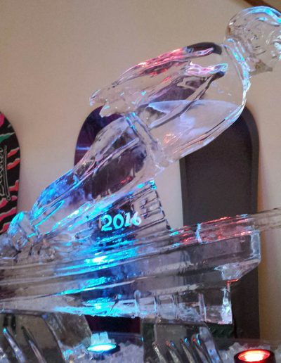 Ice Sculptures For Events 046 Ski Jumper