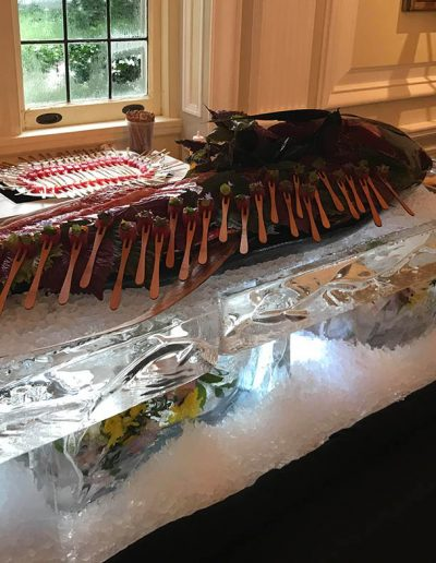 Ice Sculptures For Events 048 Seafood Service Table
