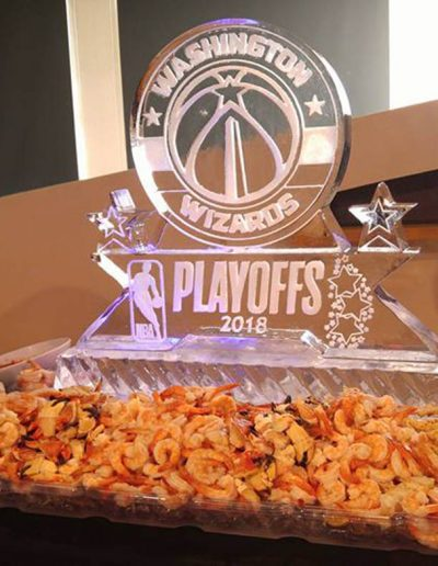 Ice Sculptures For Events 054 Washington Wizards Playoffs