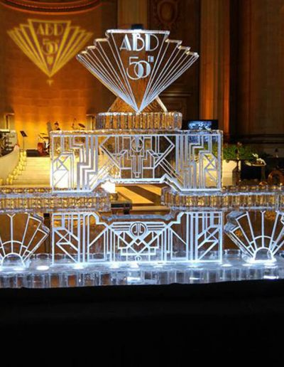 Ice Sculptures For Events 065 Deco Seafood Bar