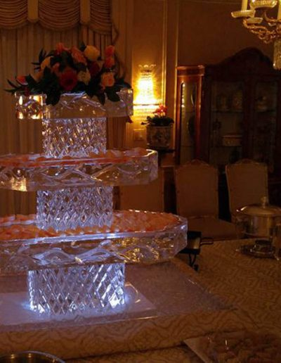 Ice Sculptures For Events 073 Three Tier Seafood Bar