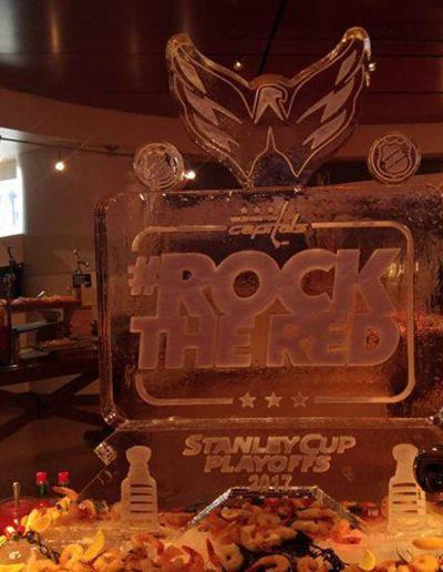 Ice Sculptures For Events 074 Rock The Red