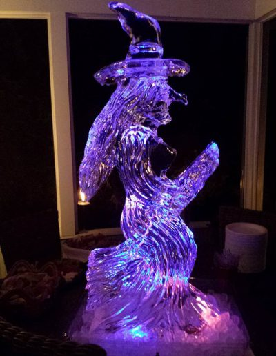 Ice Sculptures For Events 092 Witch Luge